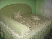 Продаю 2-х спальную кровать с аксессуарами