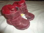 Ботинки «сказка» детские,  новые,  зимние,  размеры  21,  22