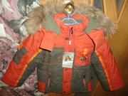 Костюм зимний курточка+полукомбез новый рост 98-104 см (2-4 года)