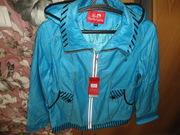Курточка ветровка женская новая р 46-52.