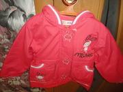 Курточка детская на флисе новая 98-104 см (3-4 года)